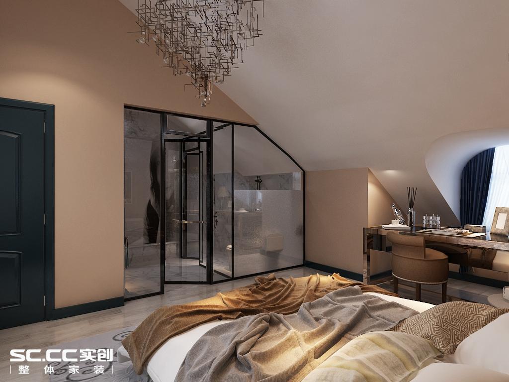 上和园著158平四居新工业风格个性浪漫婚房设计方案