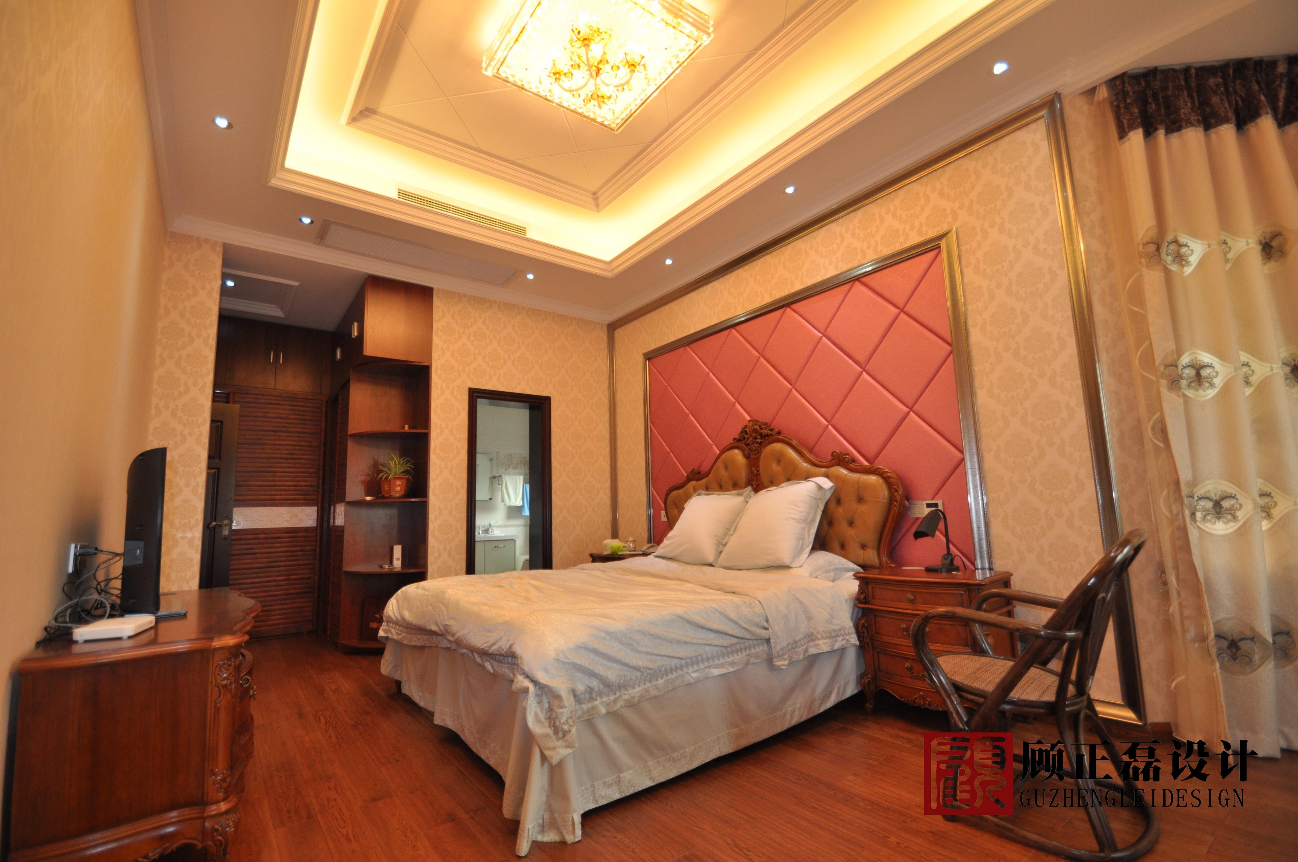 【顾正磊空间设计事务所】中南世纪城170平米挑高公寓欧式风格