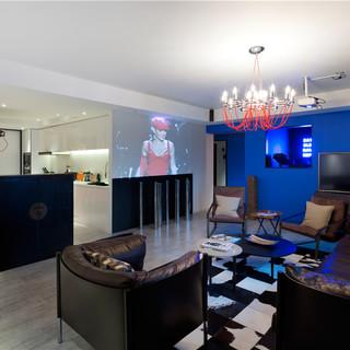 上海外滩180平西式摩登现代公寓
