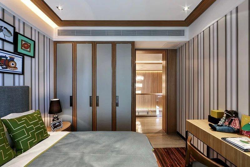 世茂大观新式式风格别墅装修案例|世茂大观样板房|图