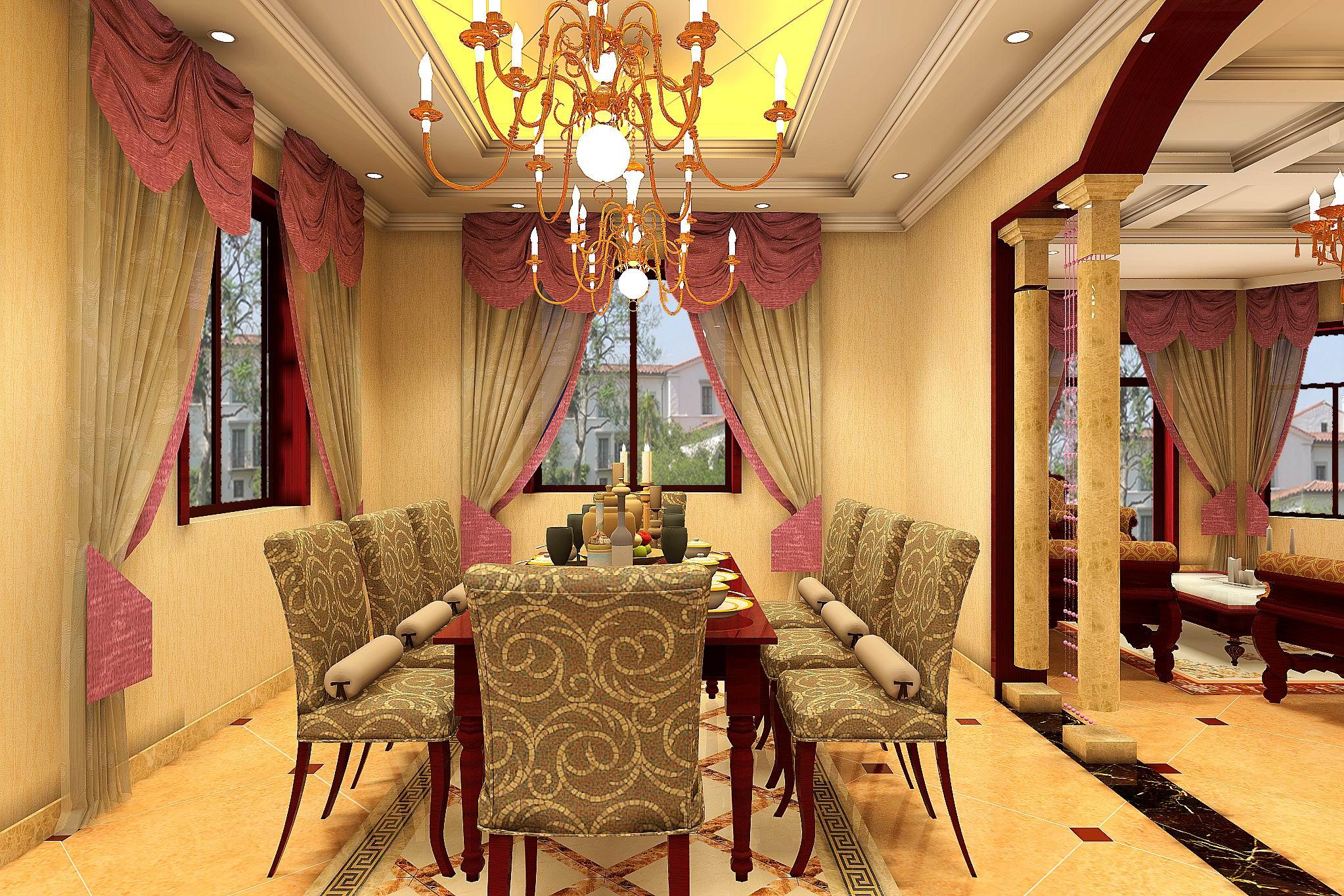 欧式别墅装修设计案例