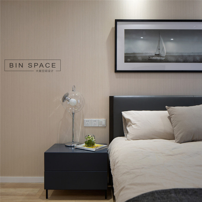 2016客厅电视背景墙装修 精装修公寓 现代简约风格装修