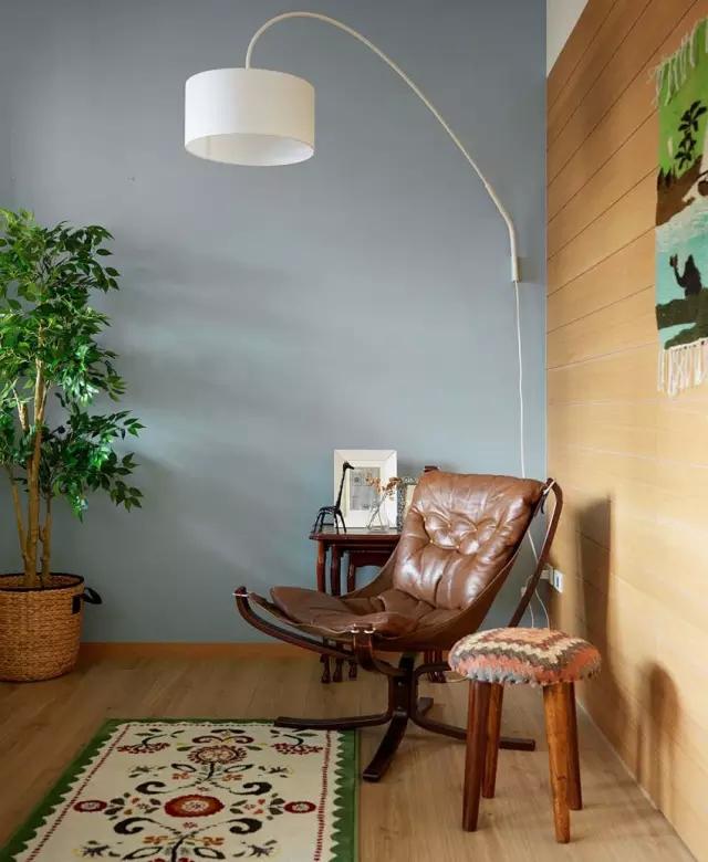 时尚女神50平现代简约风格单身公寓装修设计