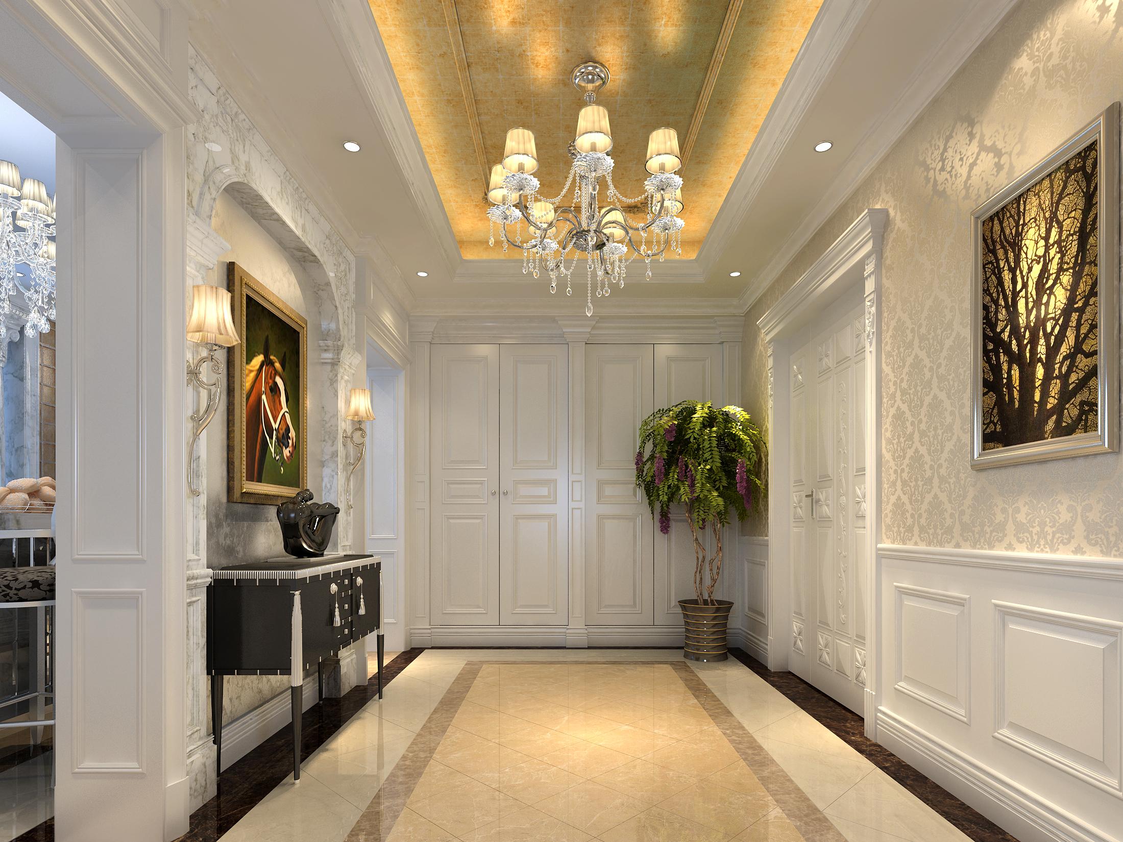 300平独栋别墅豪华欧式装修精美品质生活