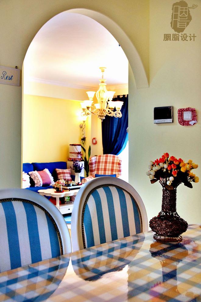 新房装修 两居现代风格家庭客厅卧室装修效果图2016