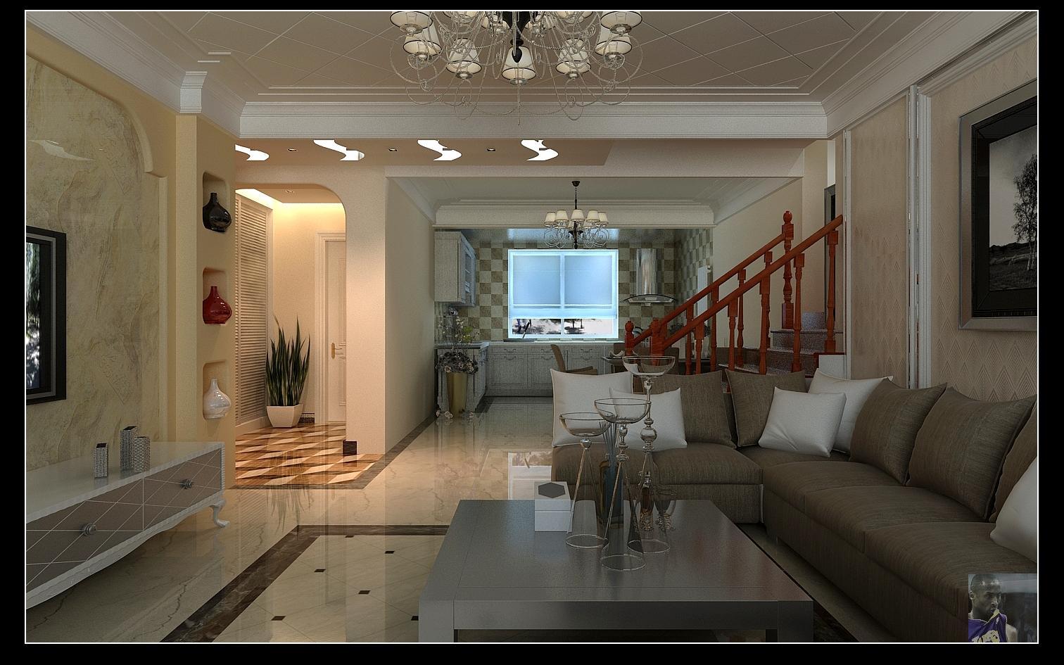 完美错层装修设计-现代简约风-三居室