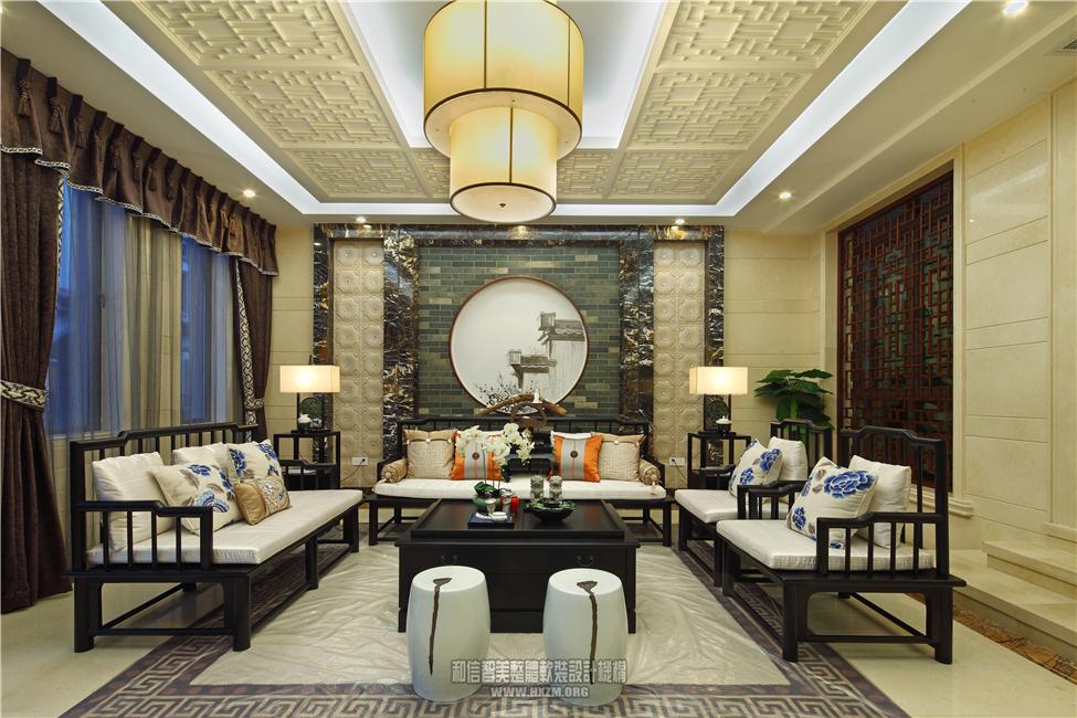 佰利庄园a型别墅样板房软装设计案例