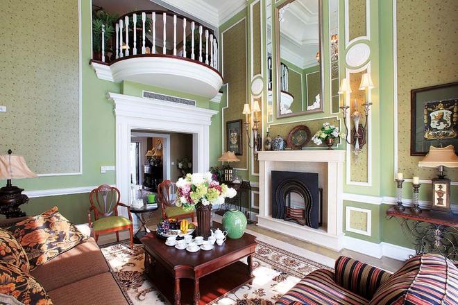 360平米挑空别墅装修欧式风格设计|龙发装饰|北京
