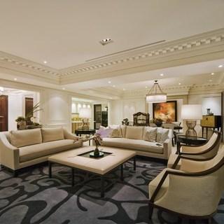 496平独栋别墅欧式典雅豪宅 巧妙兼顾文人风格与收纳功能