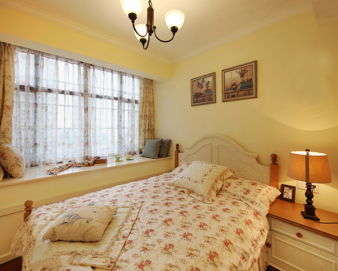 124平三居室混搭风格,温馨且不失质感!