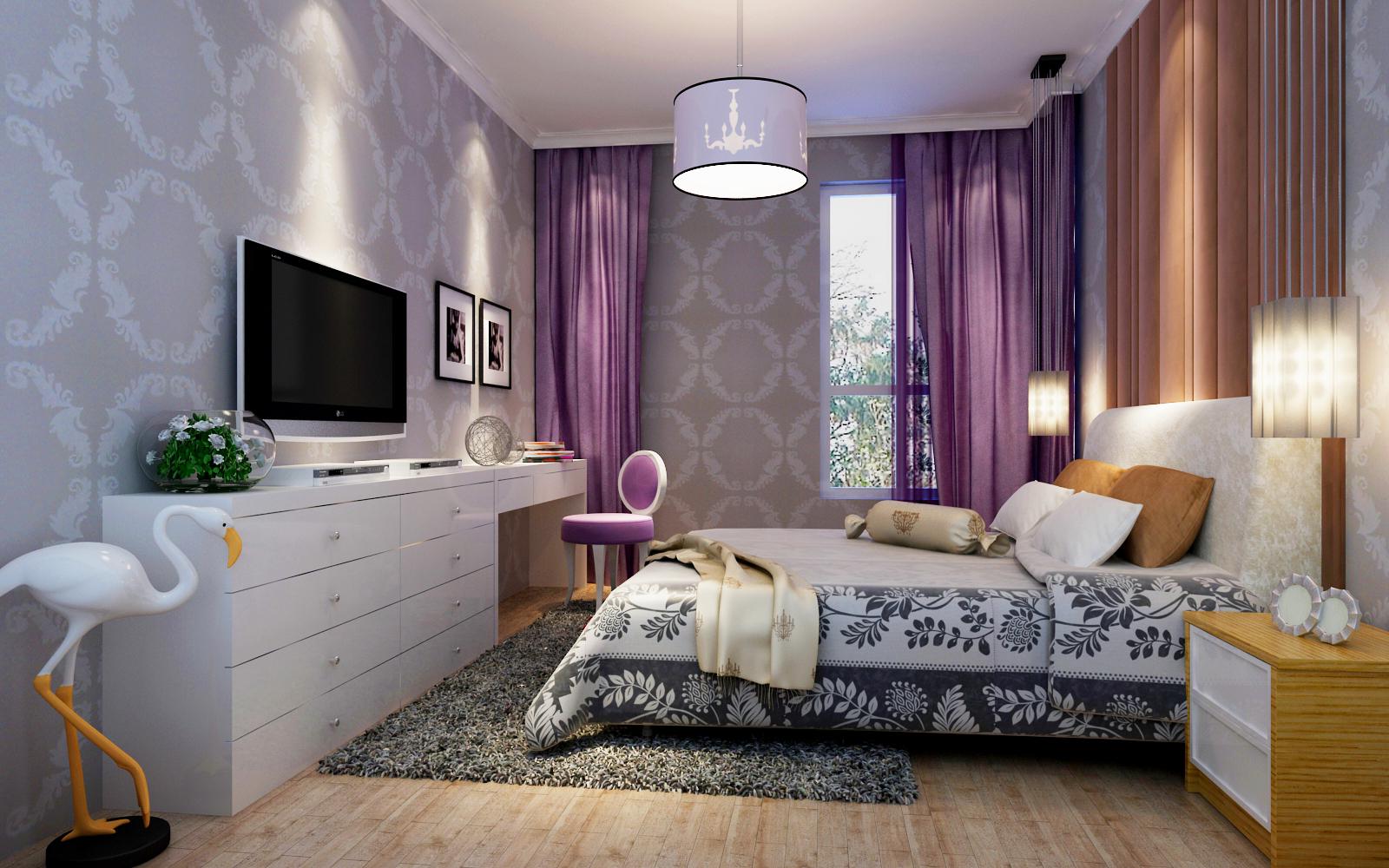 80平米现代简约两居室装修,新房装修更时尚舒适