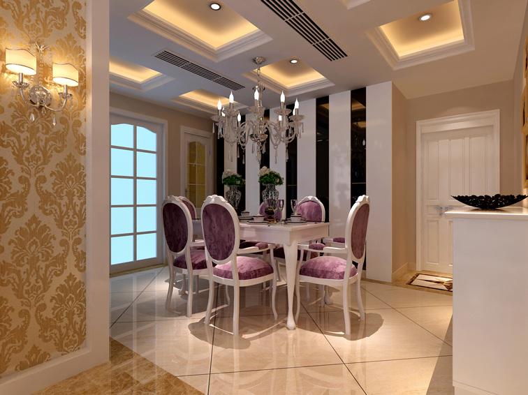 108平欧式风格婚房