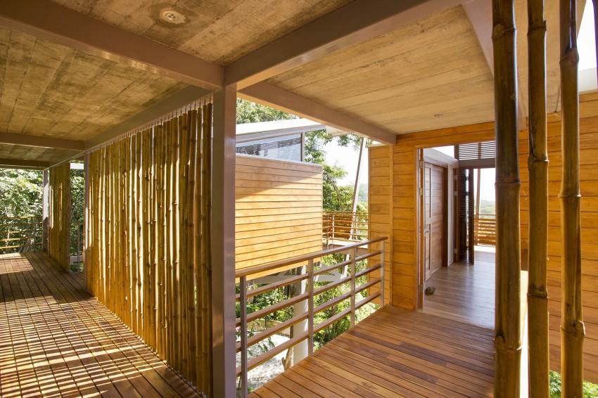 全木质原生态的空中住宅