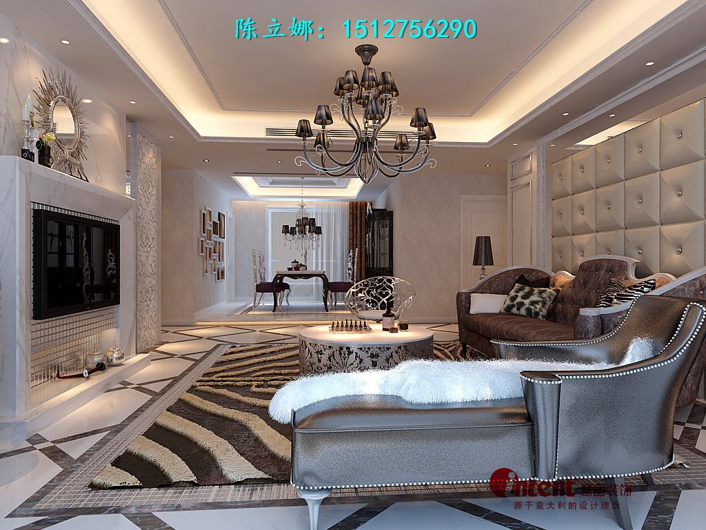 唐城壹零壹313平米联排别墅欧式设计风格设计装修效果图案例