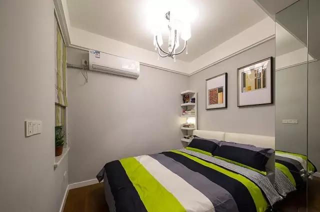 78 平简约风格两室两厅装修 清新淡雅