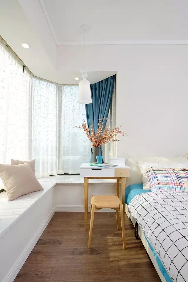 100㎡美過樣板間的三居室,混搭新格調!
