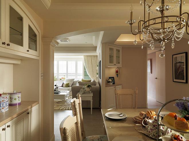 客厅主卧室装修效果图 清新美式温润如水