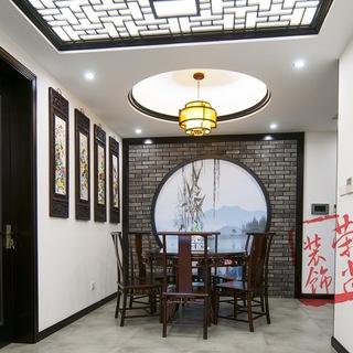 黛瓦白墙填红木 新中式设计赏析