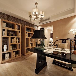 中式风格 175平米三居装修设计