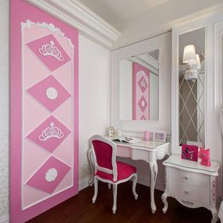 绽放一室奢华芬芳山茶花主题设计  新古典181平大宅
