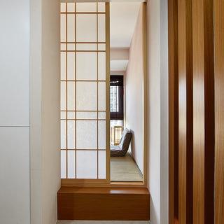 【实创装饰】明天华城137平现代简约3居原木设计