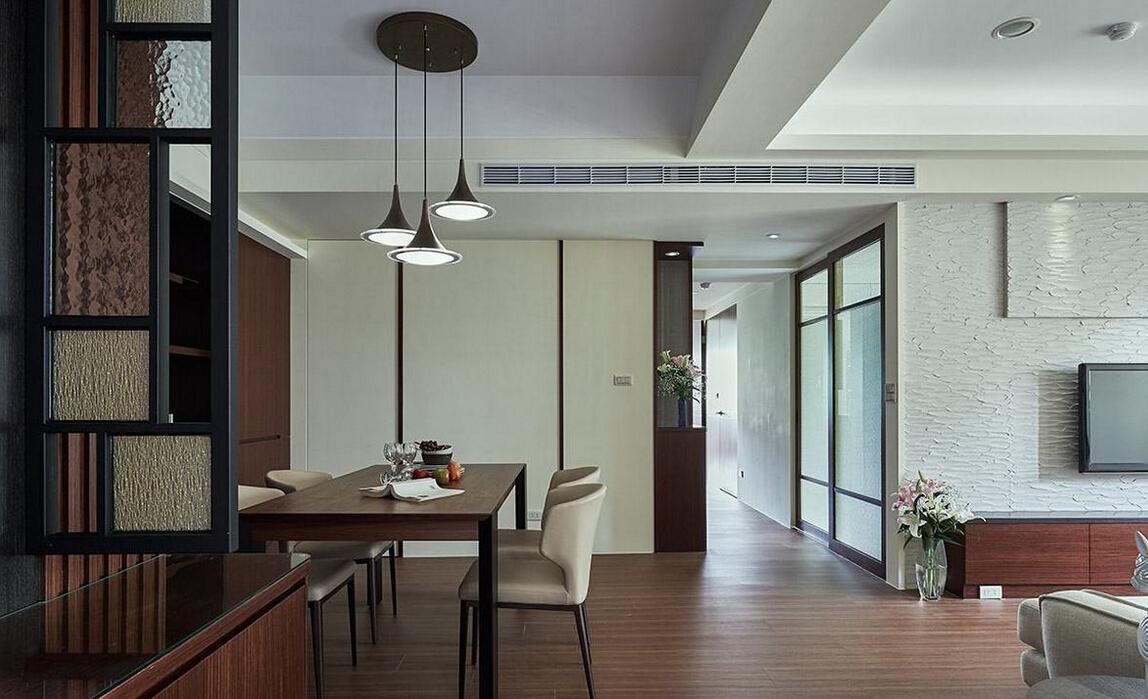 83平米老房子小户型装修翻新打造简约风格家居样板间