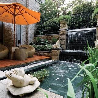 【上海实创装饰】丽水馨庭300平东南亚远离尘嚣的别墅