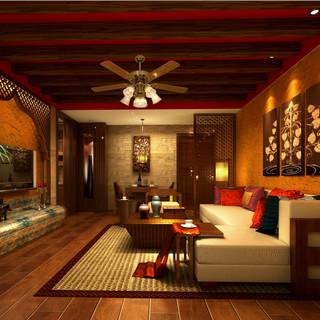 东南亚风崇尚自然、原汁、原味又迅速深入人心,审美观念也迅速升华为一种生活态度。