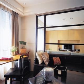 时尚东方 极具品味的中式风三居室