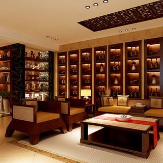 285平别墅中式大气之家-上海实创装饰