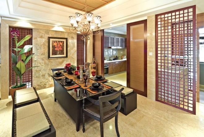 现代中式别墅设计 品品茶谈谈人生!