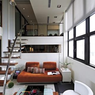 优美的圆弧抛物扶梯聚焦空间美感