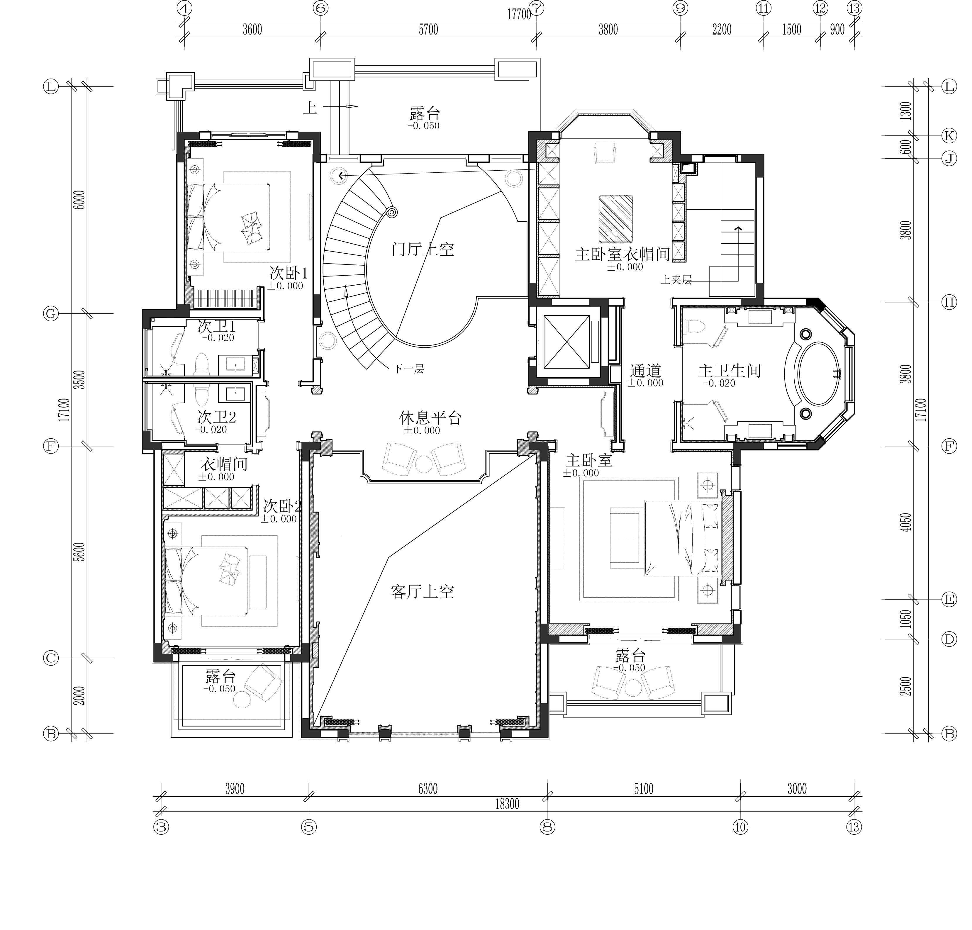 【迪梵宜设计】重庆秀湖鹭岛大独栋—别墅样板