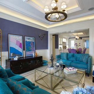30万打造上海徐汇178平四居美式清新公寓