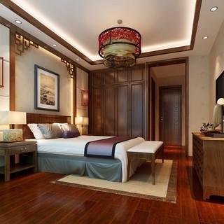 央央春天171㎡中式四居装修设计
