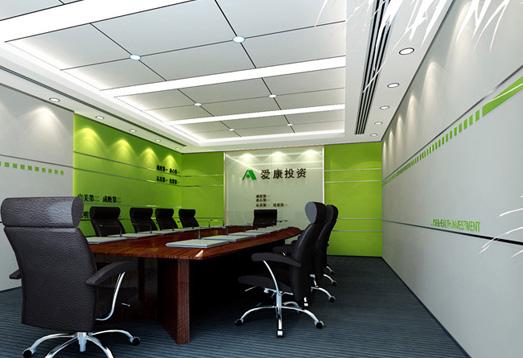 1000平米办公室装修设计【龙发装饰】