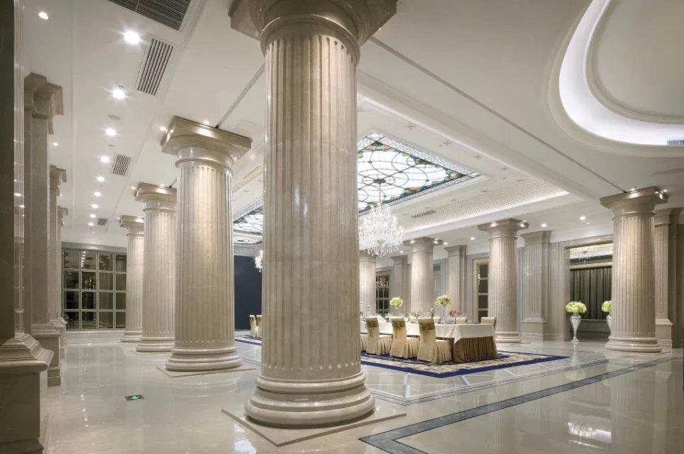 3000平米售楼中心装修设计|欧式别墅设计样板房|龙发装饰fa别墅设计