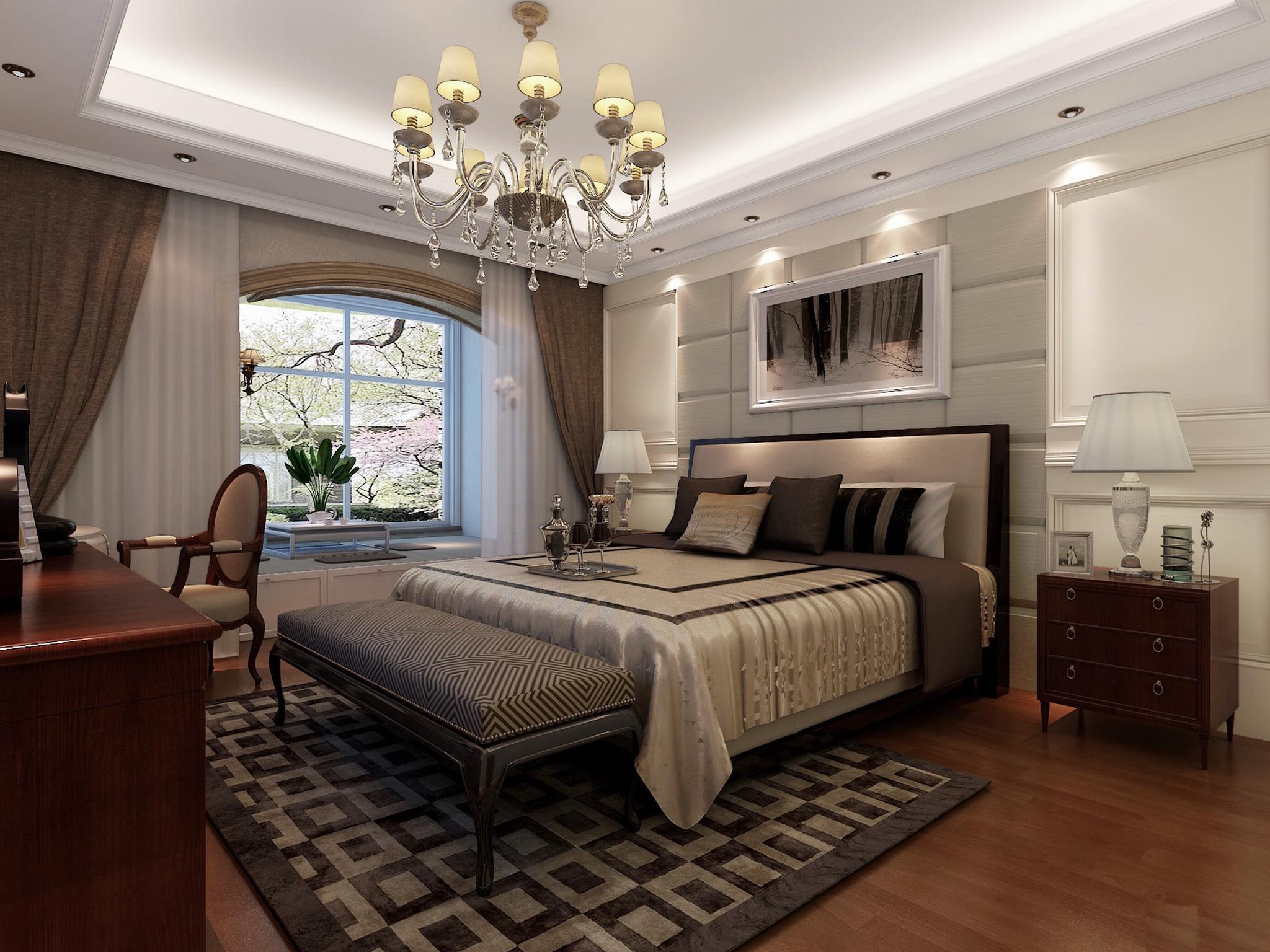 案例说明:奢华是每个成功人士的梦想,但每个人对奢华的概念是不同的,本套作品客户对造价的要求比较充裕,希望能做出不落俗套的优雅的简欧奢华感居室。我把许多真正能够带来舒适感的设备引入他的房子,在忠于新古典风格的同时,融入适当的现代感,使作品表现出二十一世纪的古典。
