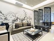 上南山水苑127平老房换新装现代风