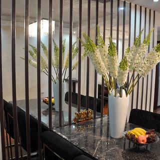 13.5万打造三居室现代简欧风格装修实景图