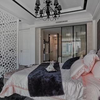 低炭生活240平米四居室新古典风格装修工程造价8万元靠普(轻装修,重装饰)