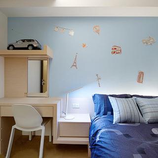 层迭  多元表情的132平空间的三居室
