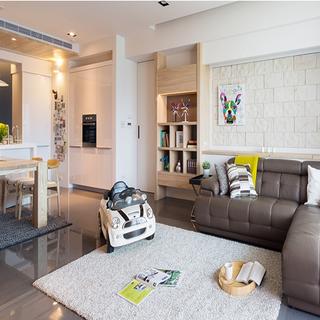 简约北欧风格小户型家居设计