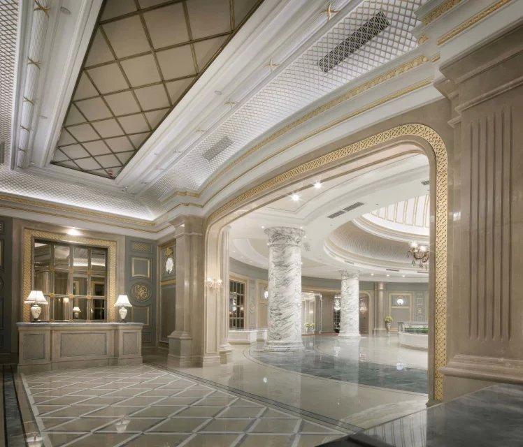 3000平米售楼中心装修设计|欧式别墅设计样板房|龙