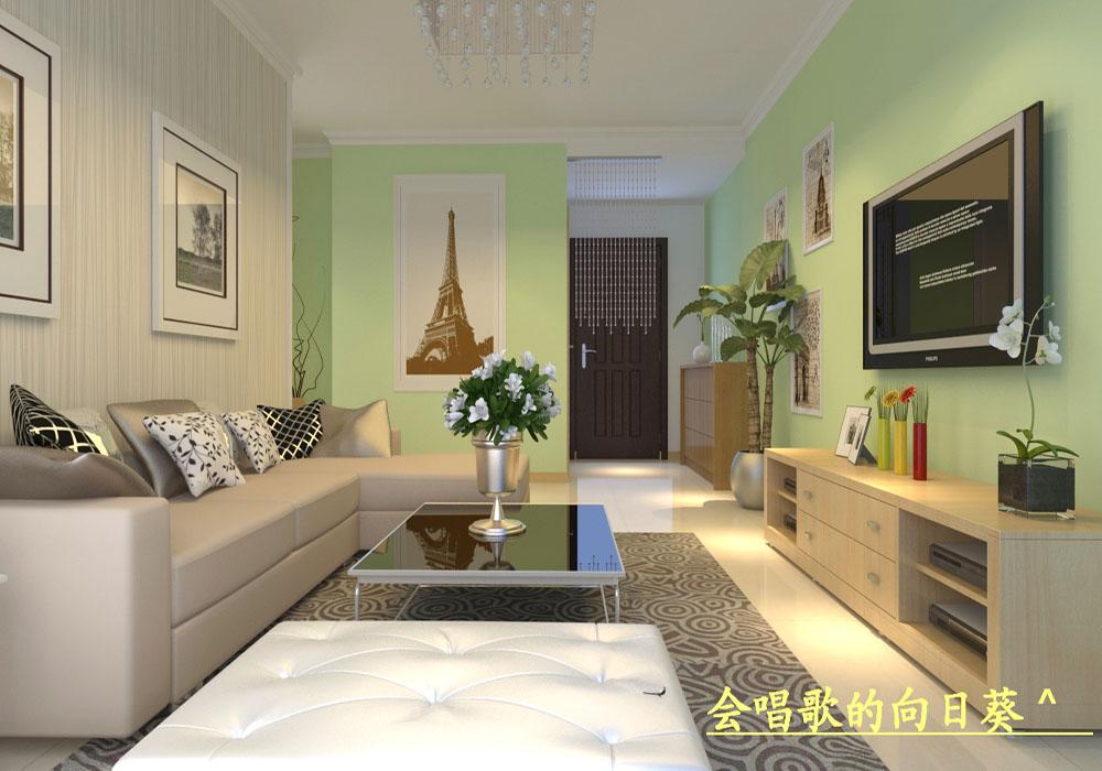 一居室家庭室内设计装修.