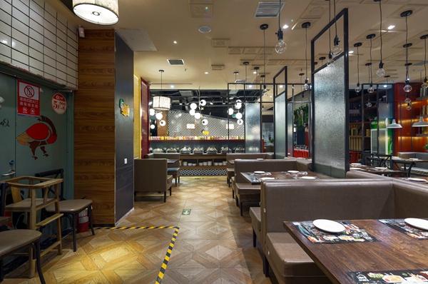 月影法式铁板烧----王锟餐饮空间设计作品赏析