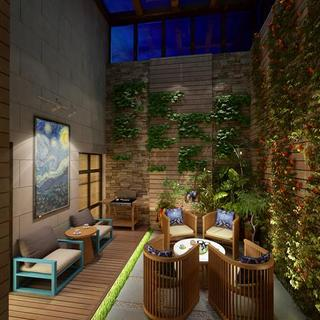 传统融合现代的249㎡休闲家居空间