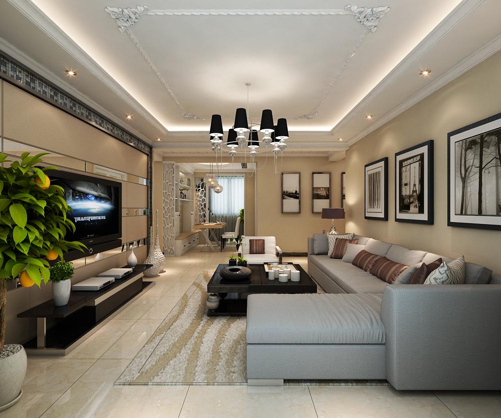 繁华·盛世 简约现代风格公寓