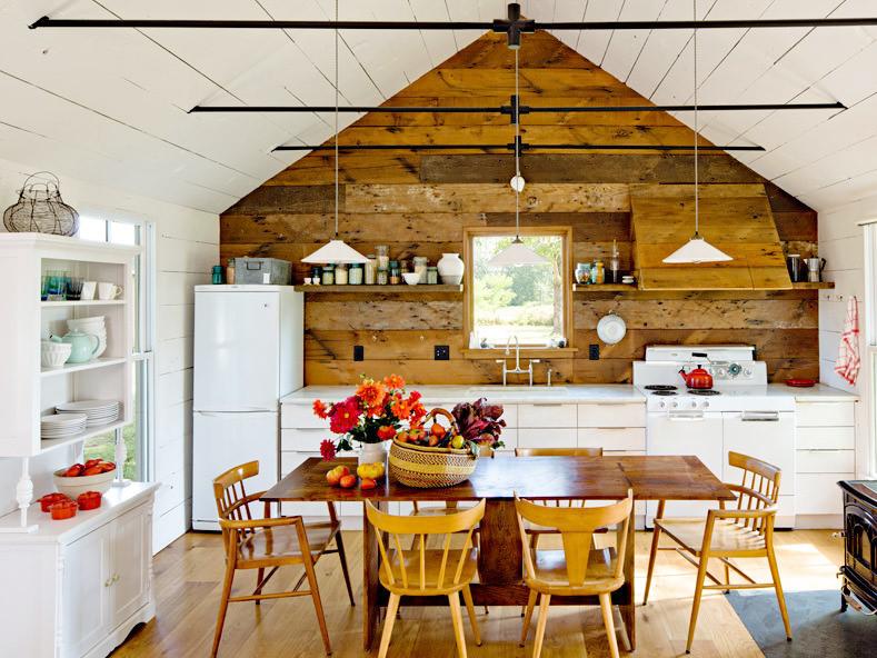 清新原生态55平米小木屋