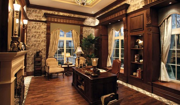 500平米别墅设计图 欧式奢华豪宅装修案例 上海别墅装修公司哪家好 龙发装饰十强